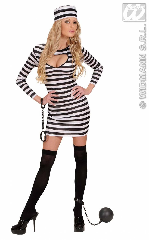 Carnival-costumes: Sexy Prisoner - Fancy dress
