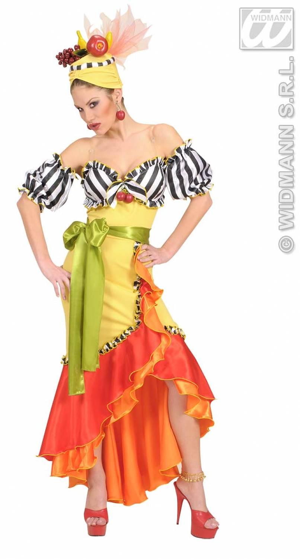 Бразильский костюм для карнавала своими руками
