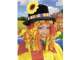 Carnival-accessories: Clownswig with Hat