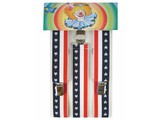 Carnival-accessories:  Braces Stars & Stripes