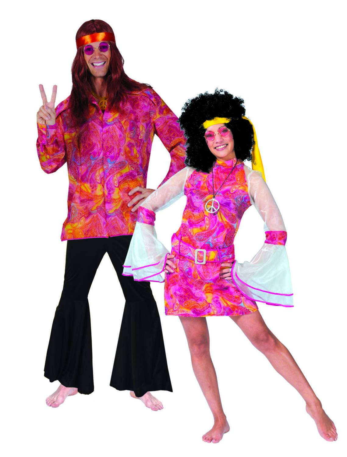 Party-costumes: Disco-Hippy - Fancy dress