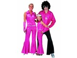 Disco-outfit:  Man, woman, Child
