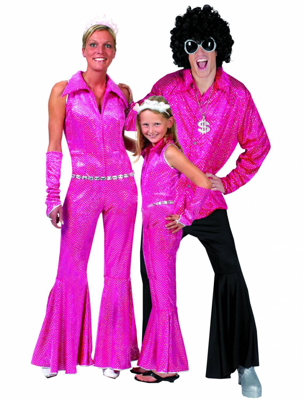 Disco-outfit: Man, woman, Child - Fancy dress