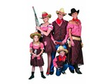 Westernparty:  Cowboycostumes for young and old