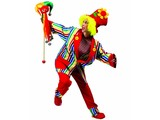 Carnival-costumes:  Clownscostumes for him and her