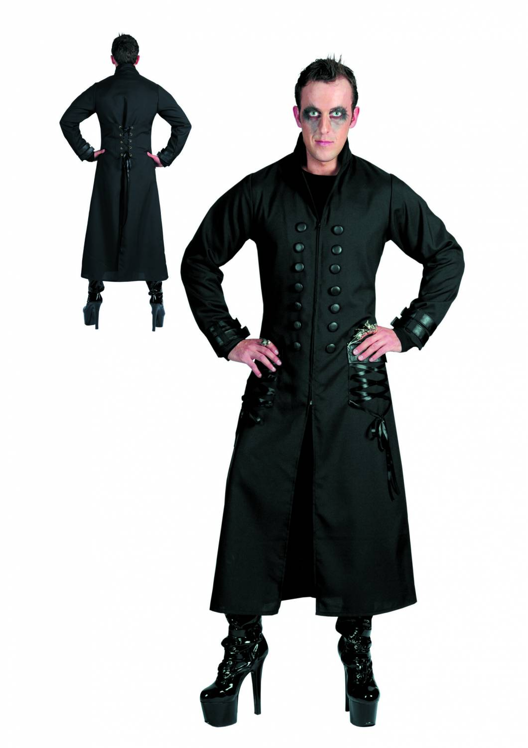 halloweencostumes gothic jacket fancy dress. Black Bedroom Furniture Sets. Home Design Ideas