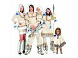 Carnival-family: Eskimo-costumes
