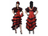 Party-costumes: Spanish dancer