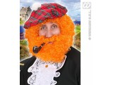 Carnival-accessories: Curly-wig Scottish Highlander