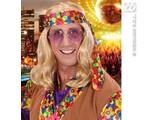 """Carnival-accessories: Hippie-Wig """"Flower"""""""
