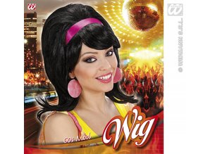 Carnival-accessories: Wig 60-ties with headband