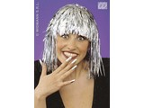 Carnival-accessories: Disco-wig in gold or silver (lurex)