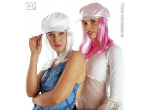 Carnival-accessories: Wig with cap in 2 haircolors
