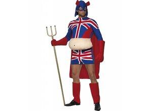Bachelor-outfit: Captain Britannia
