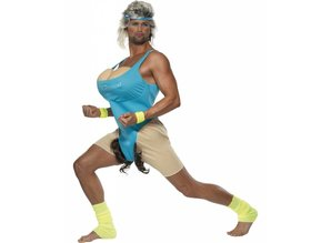 Bachelor-outfit: Let's get physical (work-out costume)
