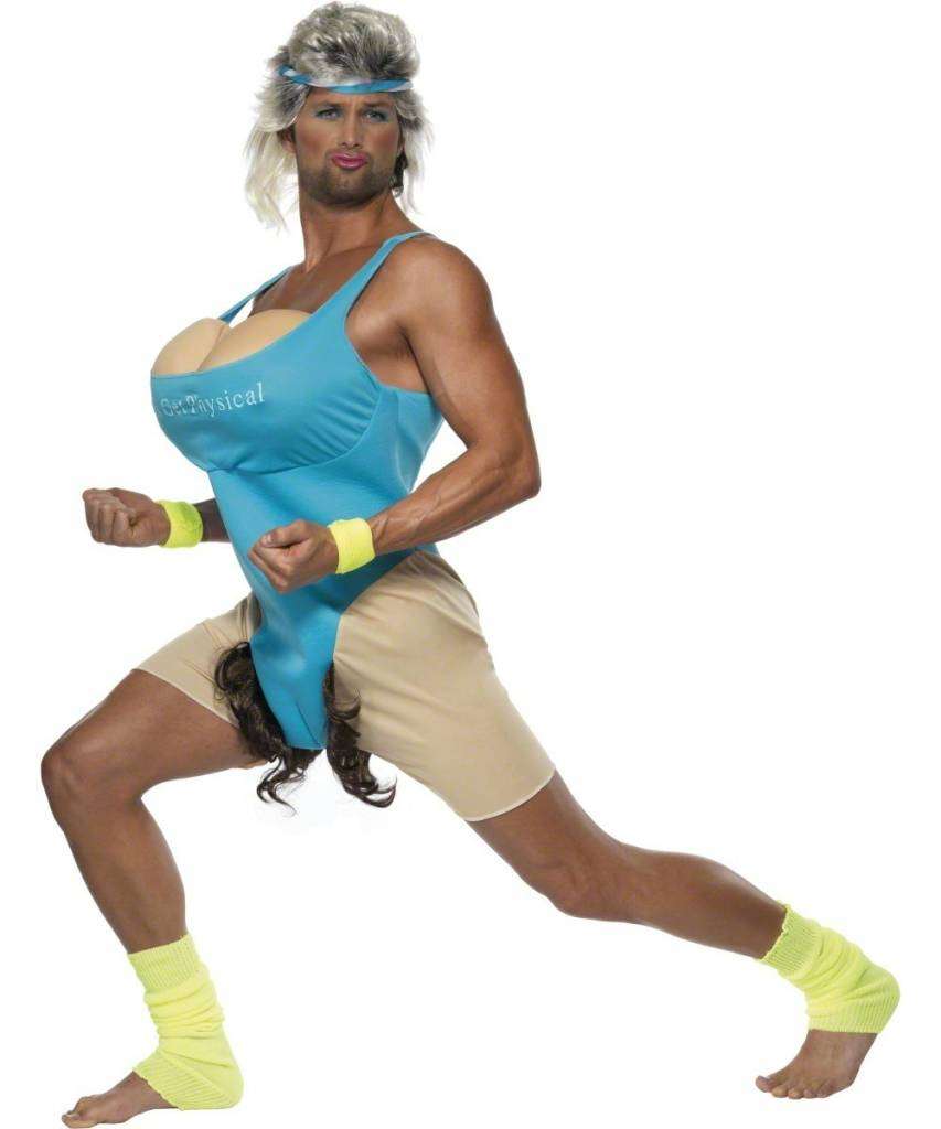 Bachelor-outfit: Let's get physical (work-out costume) - Fancy dress