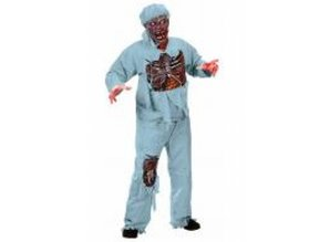 Halloween costume: Zombie doctor