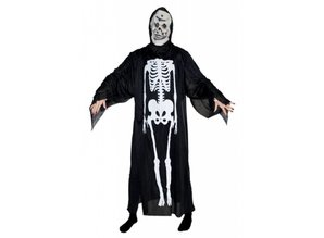Party-costumes: Skeletar with mask
