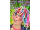 Carnival- & Party- accessories:  Multi colour Rasta Wigs