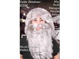Party--accessories: Abraham beard with wig