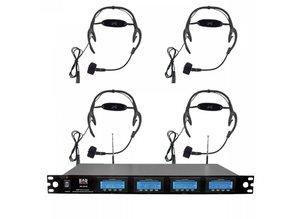 4x Headset (draadloos)