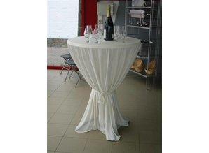 Actie Statafel met champagne kleurige rok met strik