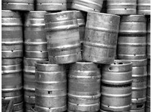 Bierfust voor mobiele biertap