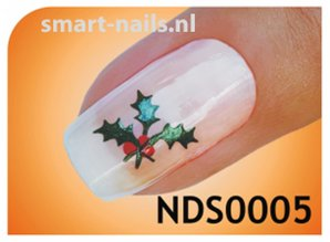 smART nails Kersttak