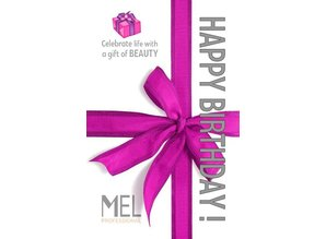 MEL Professional Happy birthday