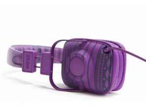 WeSC maraca-larper-stripe-dark-purple-koptelefoon