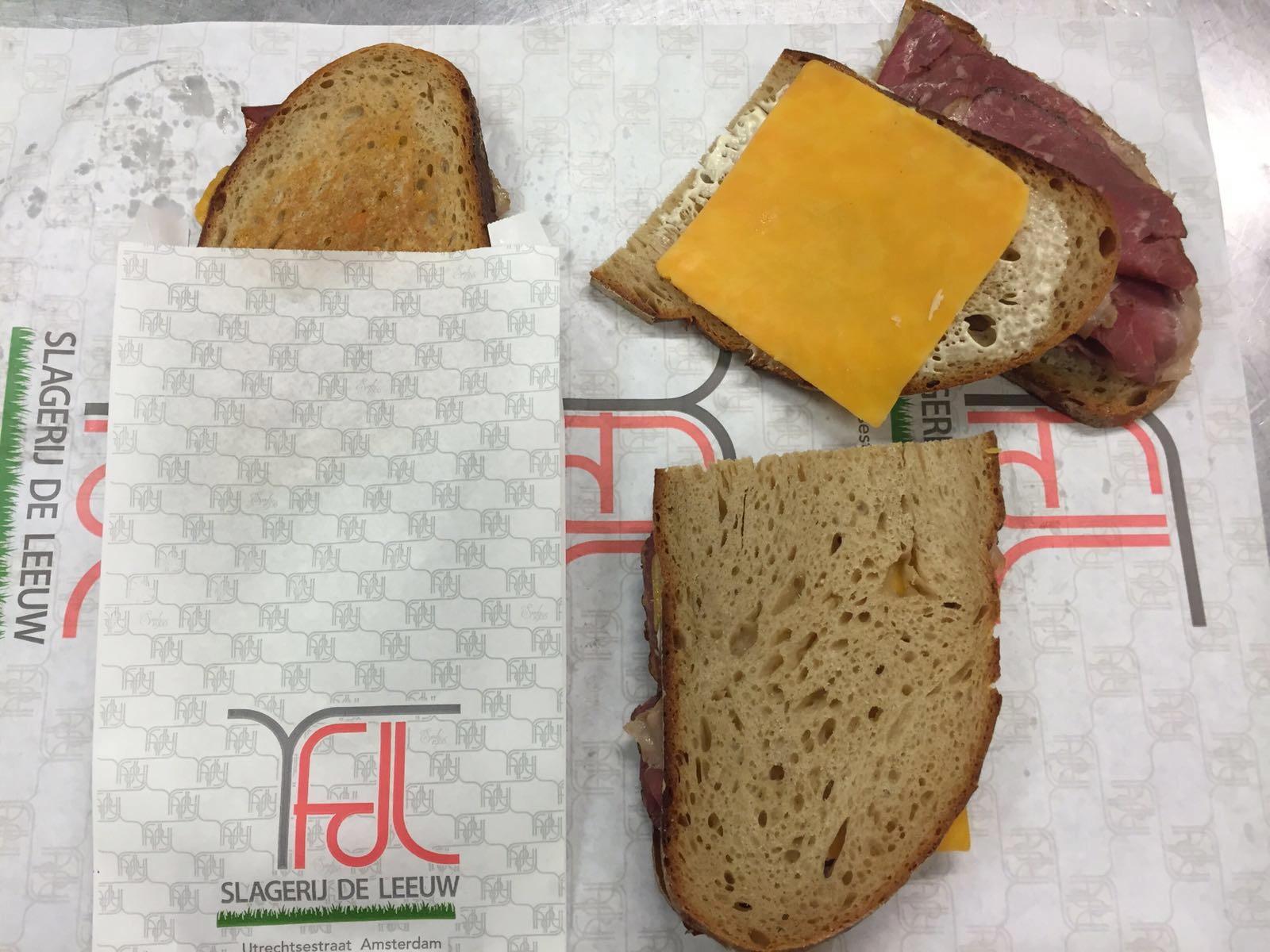 Reuben sandwich Slagerij De Leeuw Amsterdam