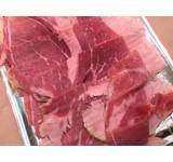 Jamon iberico, ham van het been gesneden