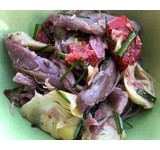 De Leeuw Salade gepekelde eend/artisjok