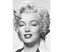 Wizard and Genius fotobehangposter Marilyn Monroe 00412