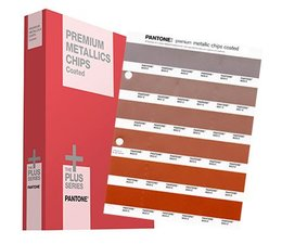 Pantone The +PLUS SERIES Premium Metallics Chips Coated