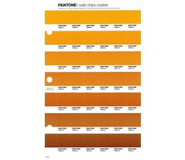 Pantone PMS Solid Chips vervangingspagina op coated papier 18C, kleurnummers 7569C - 7570C - 7571C - 7572C - 7573C - 7574C - 7675C