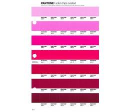 Pantone PMS Solid Chips vervangingspagina op coated papier 59C, kleurnummers 223C - 224C - 225C - 226C - 227C - 228C - 229C