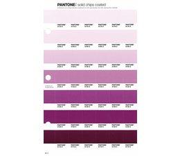 Pantone PMS Solid Chips vervangingspagina op coated papier 82C, kleurnummers 5175C - 5165C - 5155C - 5145C - 5135C - 5125C - 5115C