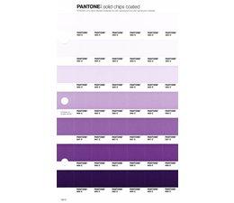 Pantone PMS Solid Chips vervangingspagina op coated papier 104C, kleurnummers 663C - 664C - 665C - 666C - 667C - 668C - 669C