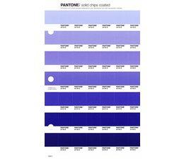 Pantone PMS Solid Chips vervangingspagina op coated papier 108C, kleurnummers 2113C - 2114C - 2115C - 2116C - 2117C - 2118C - 2119C