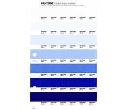 Pantone PMS Solid Chips vervangingspagina op coated papier 120C, kleurnummers 656C - 657C - 658C - 659C - 660C - 661C - 662C