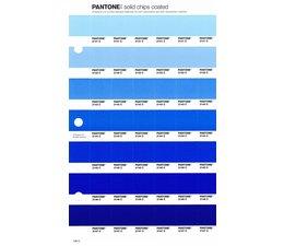 Pantone PMS Solid Chips vervangingspagina op coated papier 130C, kleurnummers 2141C - 2142C - 2143C - 2144C - 2145C - 2146C - 2147C