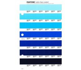 Pantone PMS Solid Chips vervangingspagina op coated papier 136C, kleurnummers 297C - 298C - 299C - 300C - 301C - 302C - 303C