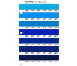 Pantone PMS Solid Chips vervangingspagina op coated papier 139C, kleurnummers 2183C - 2184C - 2185C - 2186C - 2187C - 2188C - 2189C