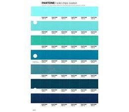Pantone PMS Solid Chips vervangingspagina op coated papier 159C, kleurnummers 7471C - 7472C - 7473C - 7474C - 7475C - 7476C - 7477C