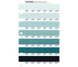 Pantone PMS Solid Chips vervangingspagina op coated papier 173C, kleurnummers 5595C - 5585C - 5575C - 5565C - 5555C - 5545C - 5535C