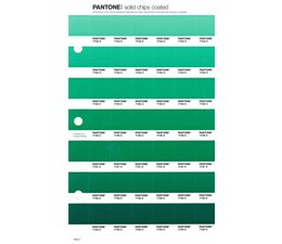 Pantone PMS Solid Chips vervangingspagina op coated papier 180C, kleurnummers 7723C - 7724C - 7725C - 7726C - 7727C - 7728C - 7729C