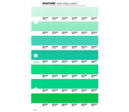 Pantone PMS Solid Chips vervangingspagina op coated papier 182C, kleurnummers 2246C - 2247C - 2248C - 2249C - 2250C - 2251C - 2252C
