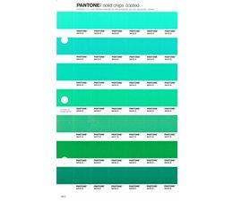 Pantone PMS Solid Chips vervangingspagina op coated papier 183C, kleurnummers 2412C - 2413C - 2414C - 2416C - 2417C - 2418C - 2419C