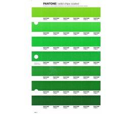 Pantone PMS Solid Chips vervangingspagina op coated papier 189C, kleurnummers 7737C - 7738C - 7739C - 7740C - 7741C - 7742C - 7743C